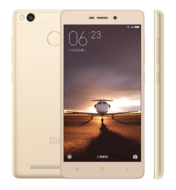 Смартфон Xiaomi Redmi 3 S 16gb золотой