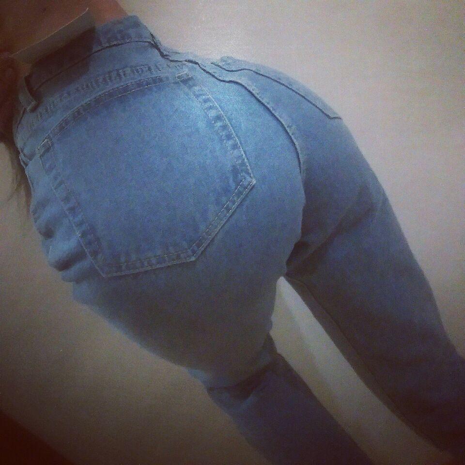 Купить не дорого женские классические джинсы с высокой талией №4