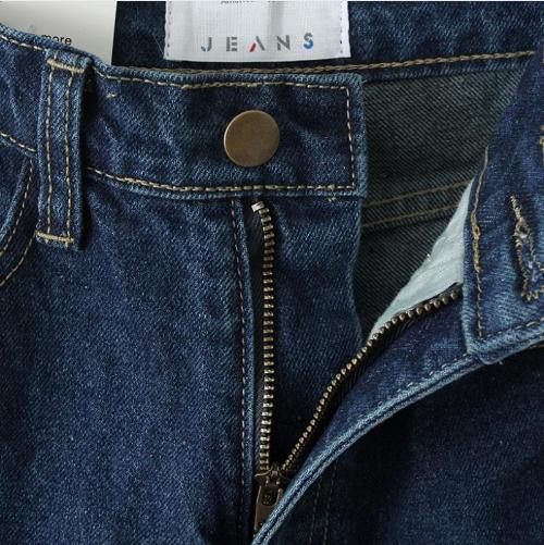 Купить не дорого женские классические джинсы с высокой талией №3