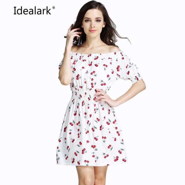 Повседневное шифоновое сексуальное платье белое №2