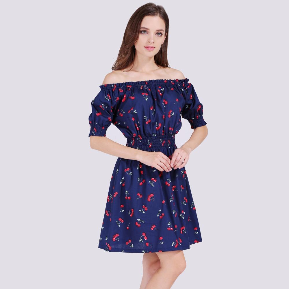 Повседневное шифоновое сексуальное платье тёмно-синее №1