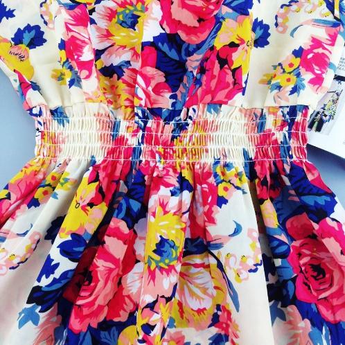 Повседневное шифоновое платье без рукавов №4