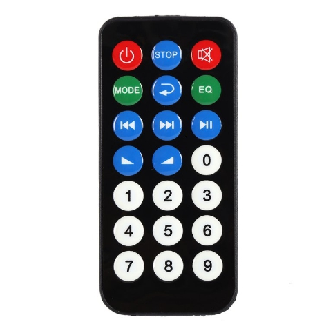 Mp3 декодер SD Mp3-плеер Ztv-m011 модуль дистанционного управления FM USB 2.0 3.5 №3
