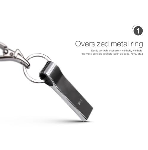 Водонепроницаемая металлическая USB флешка TECHKEY объёмом памяти 4 Гб, 8 Гб, 16 Гб, 32 Гб, 64Гб №1