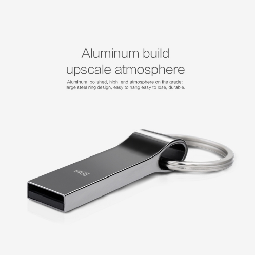Водонепроницаемая металлическая USB флешка TECHKEY объёмом памяти 4 Гб, 8 Гб, 16 Гб, 32 Гб, 64Гб №4