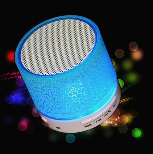 Портативная мини светодиодная Bluetooth колонка №1