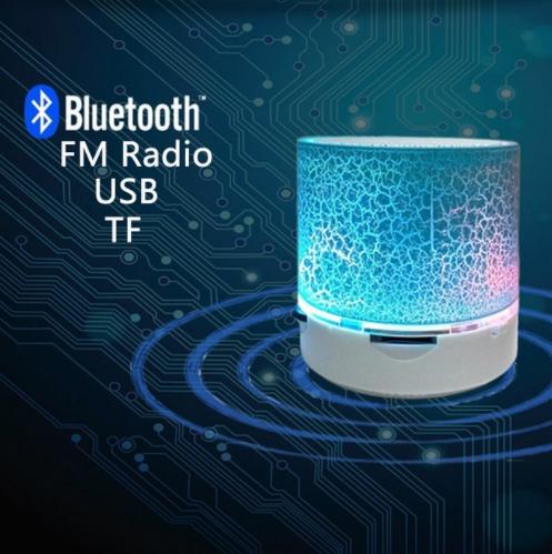 Портативная мини светодиодная Bluetooth колонка №3